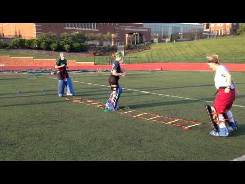 Warm Up Goalie Field Hockey Drills Videos And Sportplan