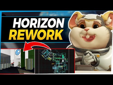 Overwatch Horizon Lunar Colony Map Rework - Fixing Problems With A New Design