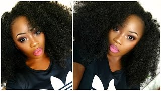 HOW TO MAKE A CROCHET WIG | MY BIG KINKY AFRO HAIR