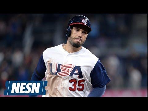 Eric Hosmer Hits Blast As Team USA Tops Venezuela