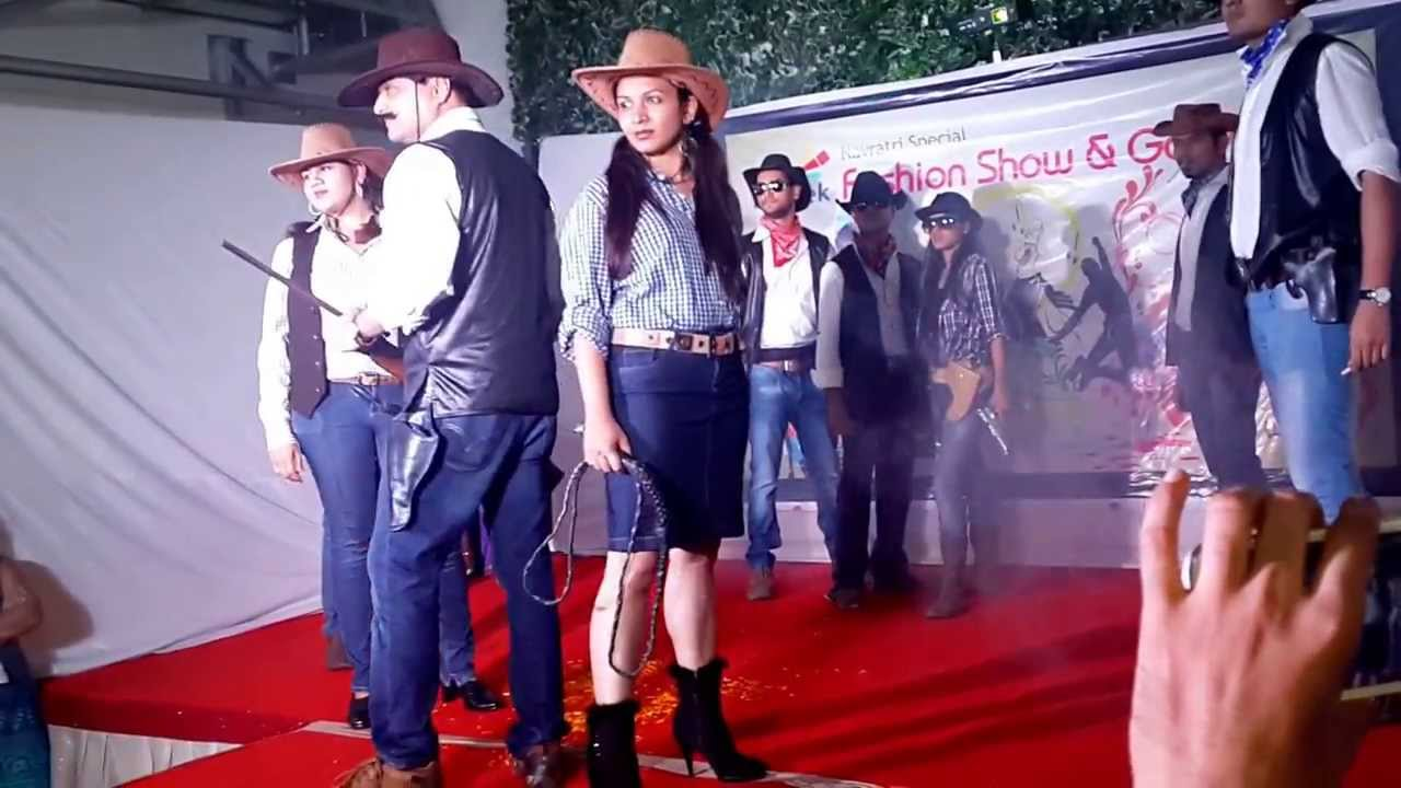 Cowboys And Cows Mastek S Theme Fashion Show 2017 Winner You