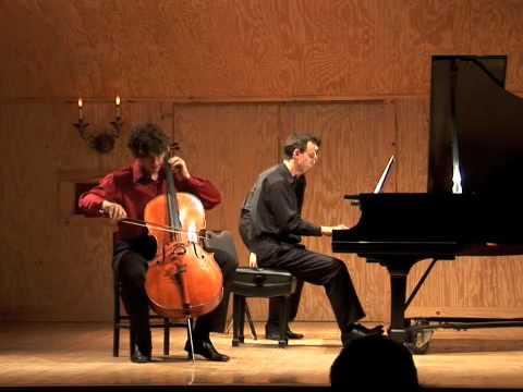 Piazzolla, Le Grand Tango part 1, Gabriel Cabezas, cello, Alex Maynegre, Piano