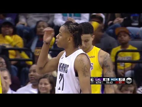 4th Quarter, One Box Video: Memphis Grizzlies vs. Los Angeles Lakers