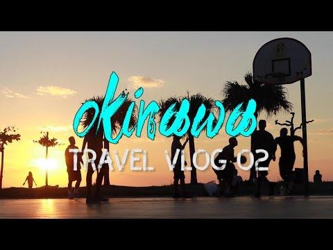 沖縄の夕日がちょー綺麗でした。(アラハビーチ)vlog02