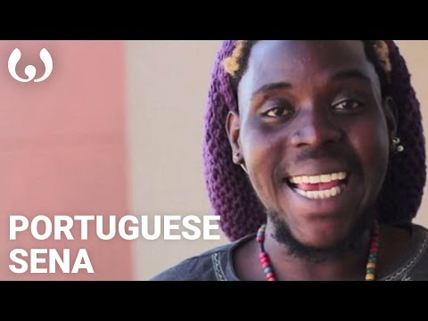 WIKITONGUES: Afro Amado speaking Portuguese and Sena