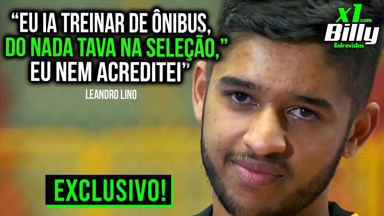 LEANDRO LINO fala o SENTIMENTO da PRIMEIRA CONVOCAÇÃO pra SELEÇÃO | X1 com Billy