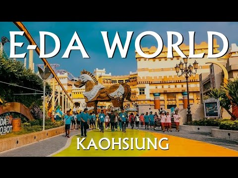 🎡{Theme Park} Taiwan Travel -- E-DA WORLD in Kaohsiung (義大世界)