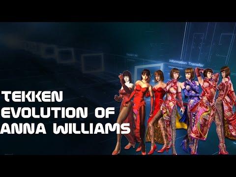 Tekken  Evolution of Anna Williams 1994  2011