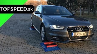 Audi A4 quattro B8 4x4 test - TOPSPEED.sk
