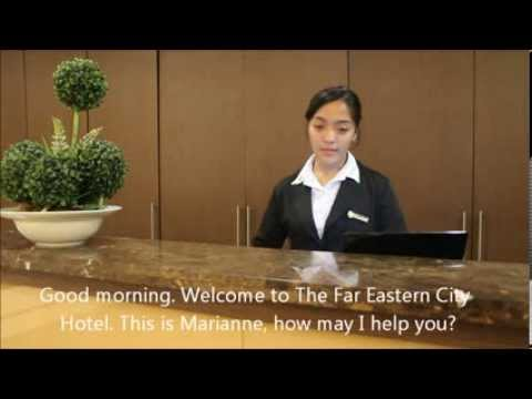 Far Eastern University - Front Office & Concierge Operations