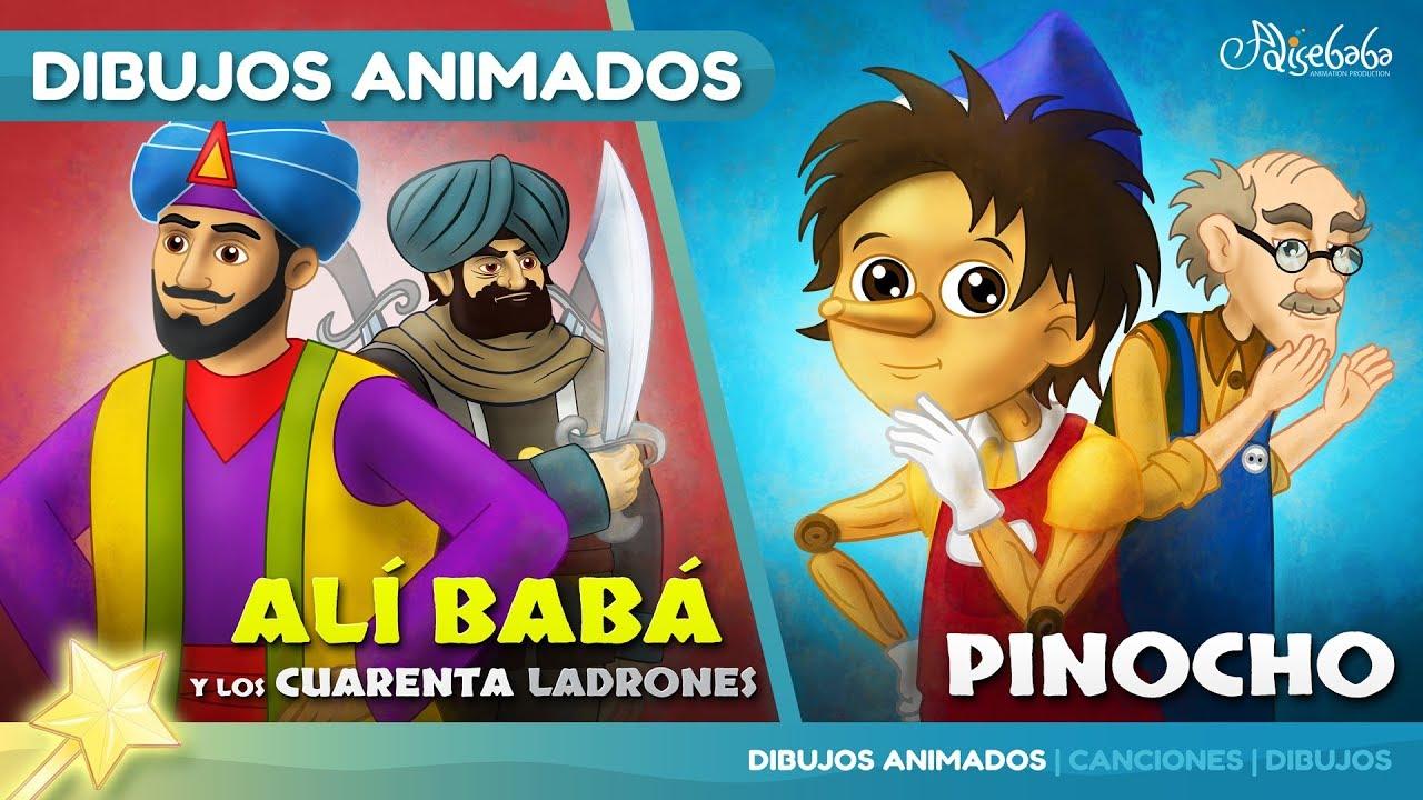 Alí Babá y los Cuarenta Ladrones cuentos infantiles para dormir & animados