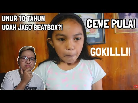 ANAK KECIL CEWE 10 TAHUN UDA JAGO BEATBOX?! INI SIH PARAH!    BEATBOX REACTION INDONESIA