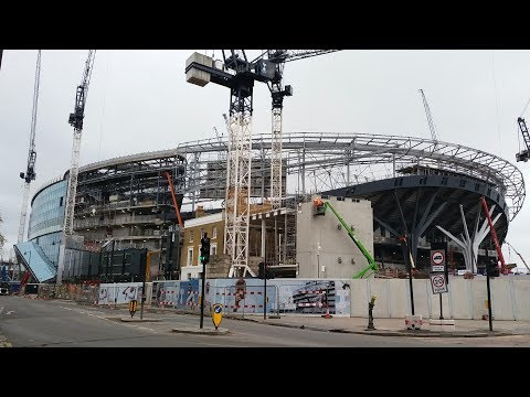Spurs New Stadium - White Hart Lane - 29 April 2018