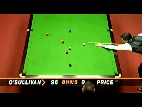 Ronnie O'Sullivan Fastest 147 in History   5 minutes 20 seconds   1997 World Championship