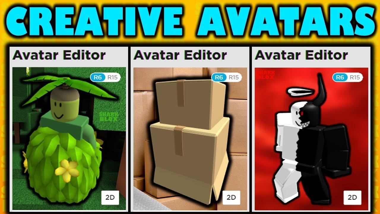 Creative Roblox Avatar Ideas Tricks Youtube