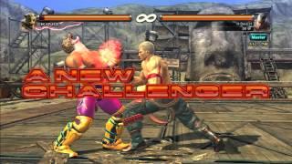 Dave plays Tekken Revolution: Part 5 - Statless scrubbin with Bryan