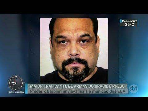 Maior traficante de armas do Brasil é preso nos Estados Unidos | SBT Brasil (24/02/18)