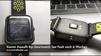 Xiaomi Amazfit Bip Smartwatch Test Fazit nach 6 Wochen