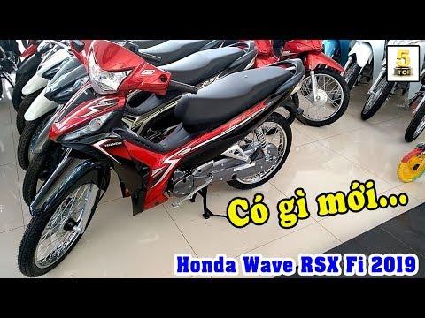 #WaveRSX2019 ▶️ Quay chi tiết Honda Wave RSX 2019 xe đẹp giá rẻ 🔴 TOP 5 ĐAM MÊ