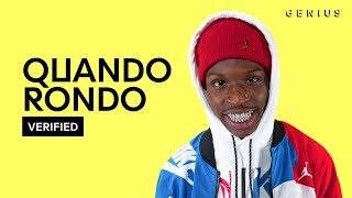 "Quando Rondo ""Double C's"" Official Lyrics & Meaning 
