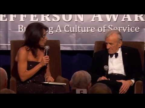 Professor Elie Weisel at 2013 National Jefferson Awards in Washington, DC