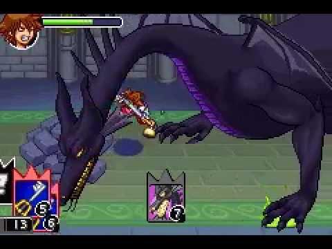 [ENG] Kingdom Hearts HD 1.5 ReMix Maleficent Dragon Boss