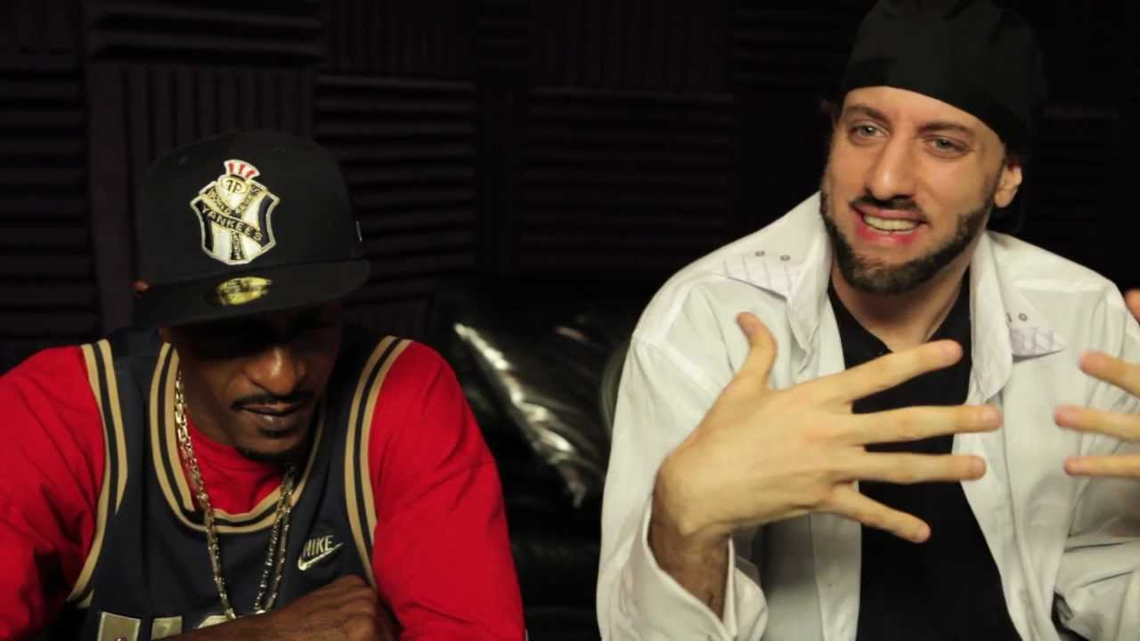 Rakim In The Studio With R A Rugged Man Discusses Daddy Kane You