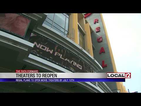 Regal Cinemas Plan For A July 10 Reopen