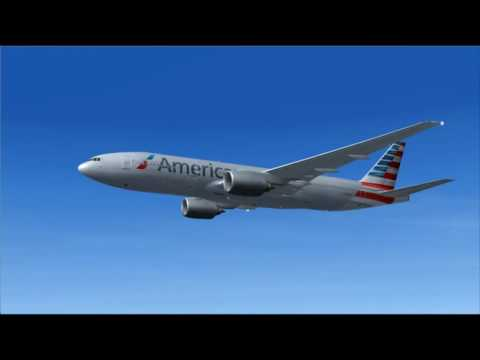 AA68 777-200ER AMERICAN AIRLINES MIAMI - MADRID