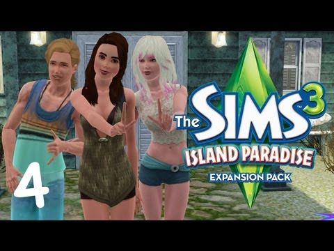 Let's Play The Sims 3 Island Paradise - (Part 4)  Long Walks on the Beach