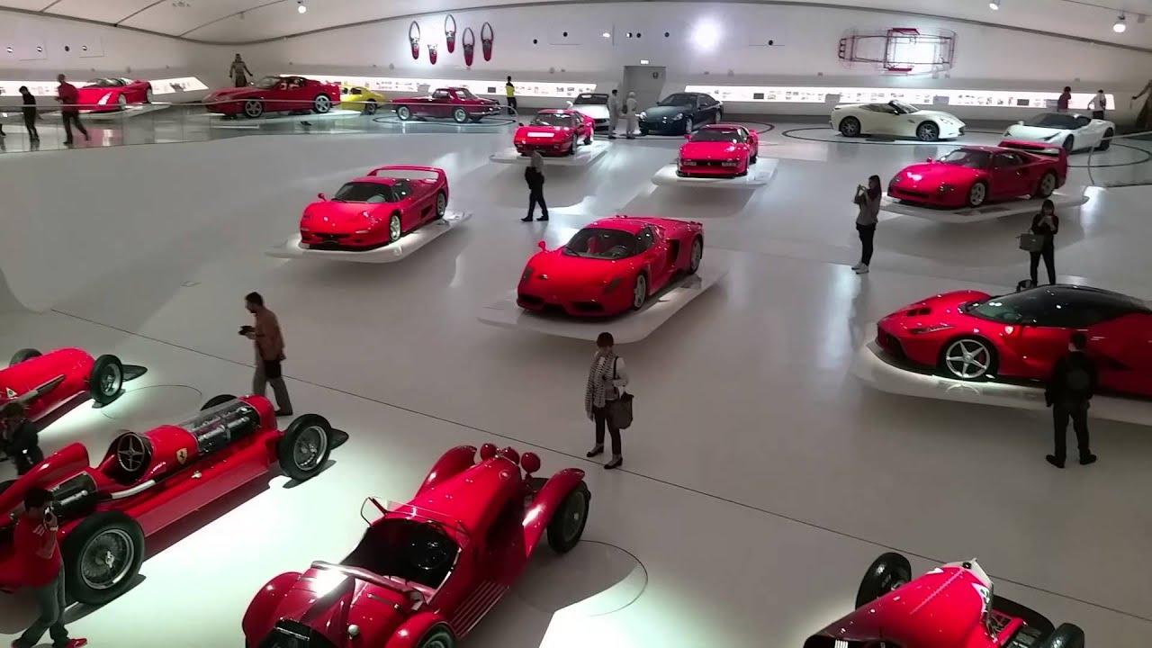 ferrari museum - modena 2015. - youtube