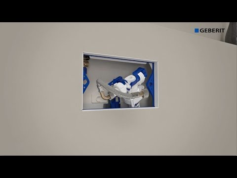 geberit sigma inwall cistern 75mm valve service doovi. Black Bedroom Furniture Sets. Home Design Ideas