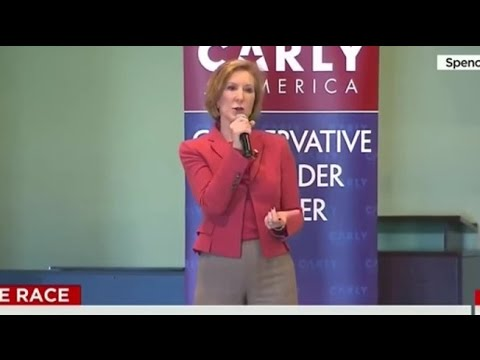 How Did Carly Fiorina Respond To A Bigot? Better Than Trump