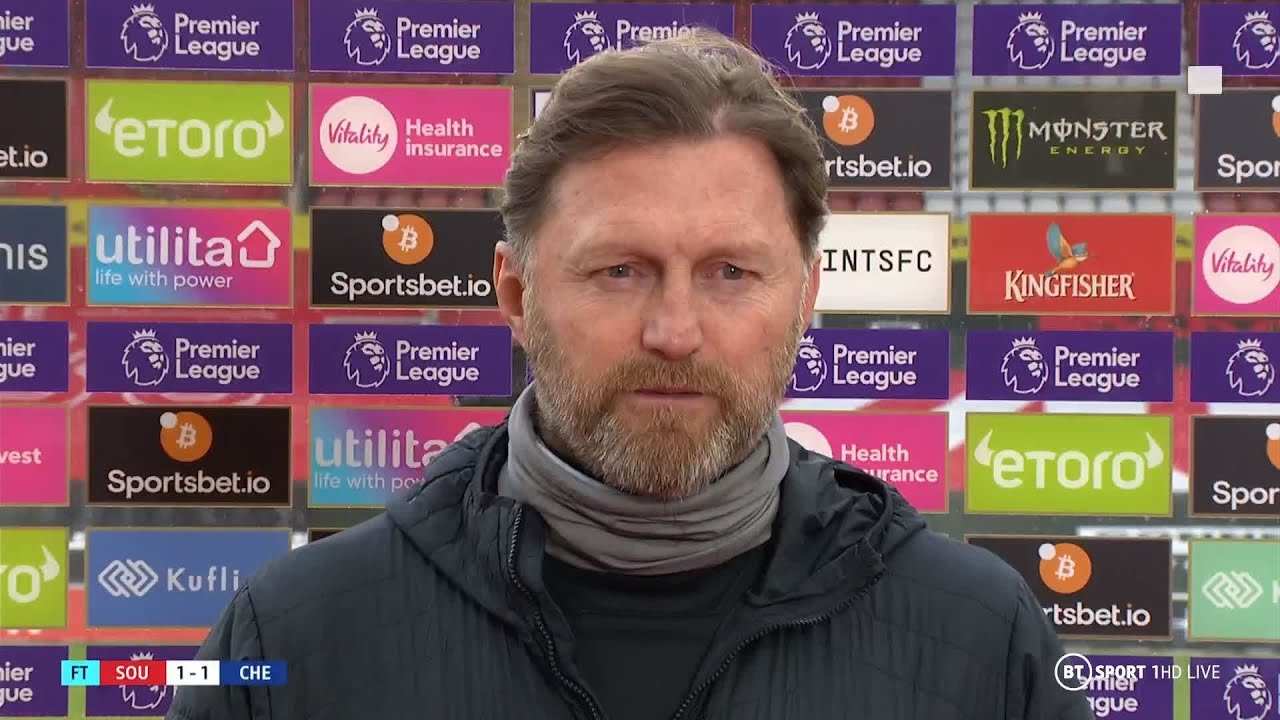 """""""The draw for us is like a win!"""" Hasenhüttl takes positives from Southampton v Chelsea sta"""