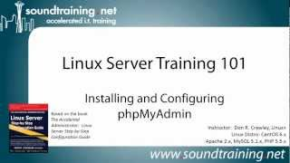 Installing and Configuring phpMyAdmin: Linux Server Training 101