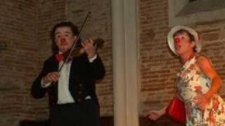 Joméo et Lucette : spectacle pour deux clowns