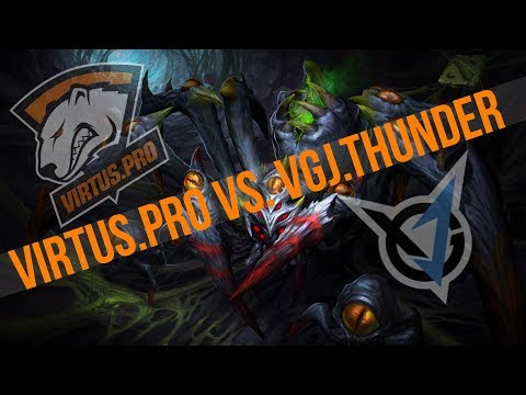The Bucharest Major Finals Virtus.pro VS. VGJ.Thunder Game 1 Post Game Analysis