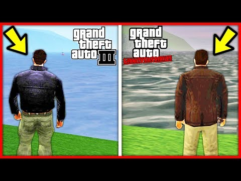 GTA 3 ЛУЧШЕ GTA LIBERTY CITY STORIES !!! СРАВНЕНИЕ КАРТ GTA 3 vs GTA LIBERTY CITY STORIES !!!