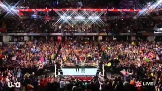 Daniel Bryan Returns on RAW 11/24/2014