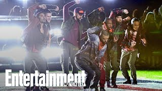 Justin Timberlake Suffers Audio Problems During Super Bowl Show | News Flash | Entertainment Weekly