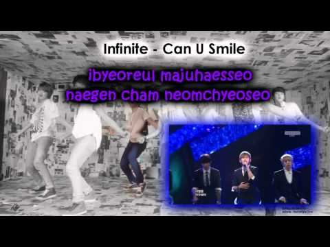 Can U Smile -  Infinite (Karaoke/Instrumental)