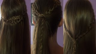 3 Easy No Heat Back To School Hairstyles! Thumbnail