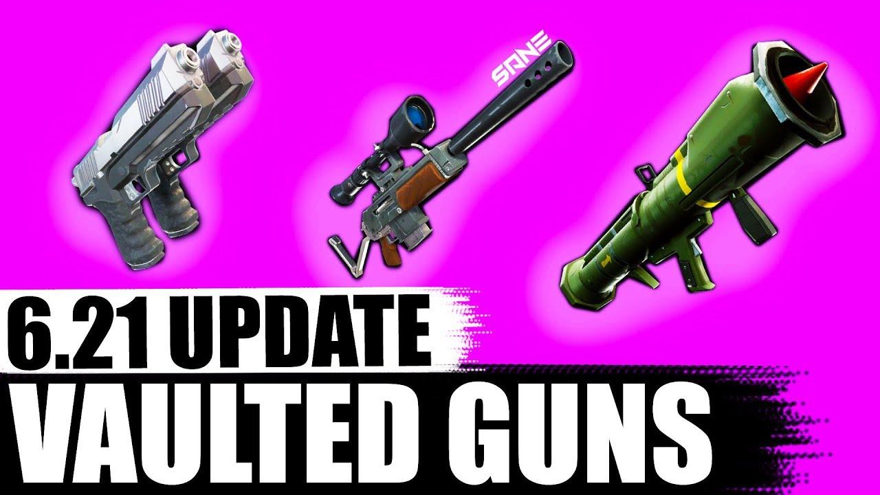 6 21 Update Vaulted Guns Dual Pistols Semi Auto Sniper Guided