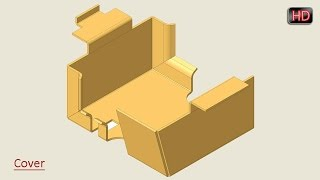 Creo Parametric Basic Tutorial || Sheet Metal