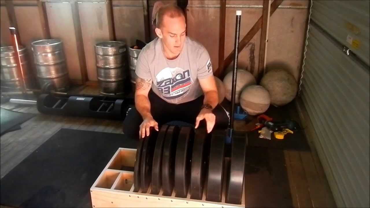 Diy toaster rack garage gym equipment youtube