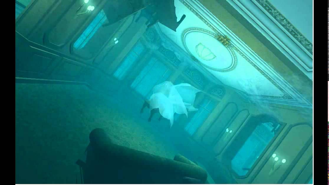 Titanic Lounge Underwater