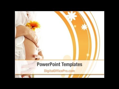 Pregnancy PowerPoint Template Backgrounds - DigitalOfficePro ...