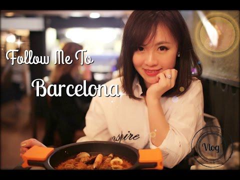 【Vlog】Follow me to Barcelona | 巴塞罗那小周末