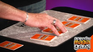 Truco de magia facil con cartas ,revelado y explicado | Aprender Magia Gratis