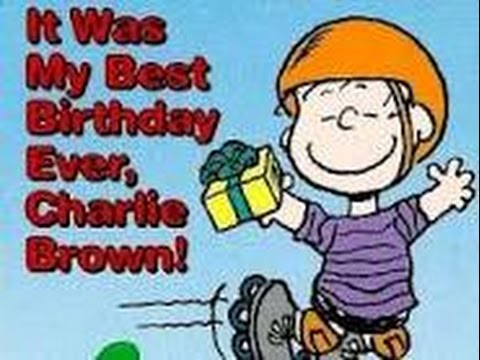 It Was the Best Birthday Ever, Charlie Brown